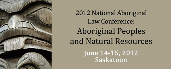 National Aboriginal Law Conference