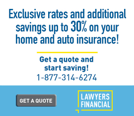 Exclusive rates and additional savings with Lawyers financial