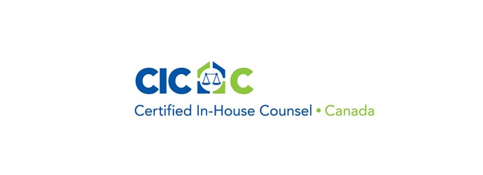Certified In-house Counsel – Canada logo