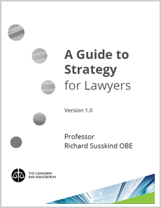 A Guide to Strategy for Lawyers