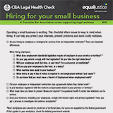 Hiring for your small business