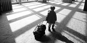 TRAVELLING WITH A CHILD?