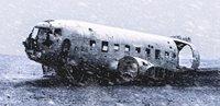 Plane in arctic