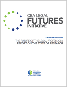 The Future of the Legal Profession: Report on the State of Research