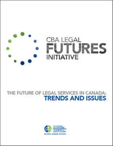 The Future of Legal Services in Canada: Trends and Issues