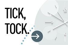 Tick,tock!