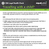 Travelling with a child? (NEW)