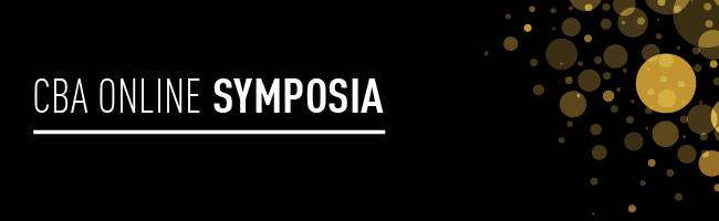 CBA ONLINE SYMPOSIA 2020